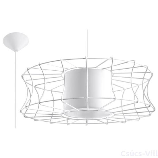 Sollux - Függeszték lámpa - SALERNO Fehér