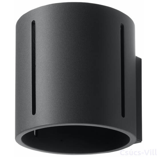 Fali lámpa -  INEZ fekete