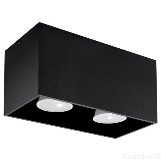 Sollux - Mennyezeti lámpa -  QUAD fekete