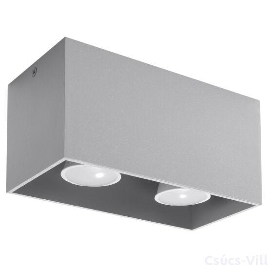 Sollux - Mennyezeti lámpa -  QUAD szürke