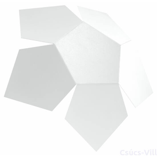 Fali lámpa -  PENTA fehér