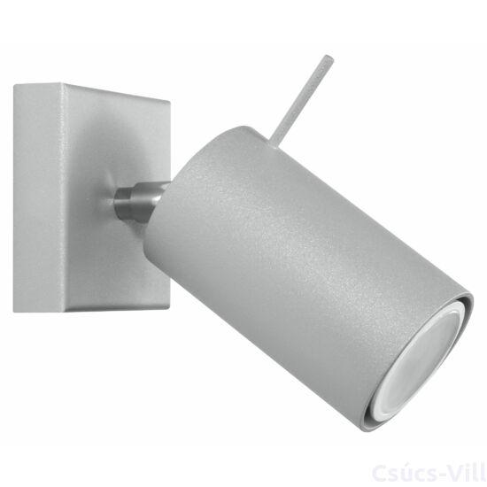 Fali lámpa -  RING 1 szürke
