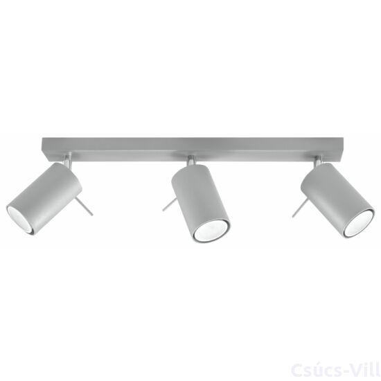 Sollux - Mennyezeti lámpa - RING 3 grey
