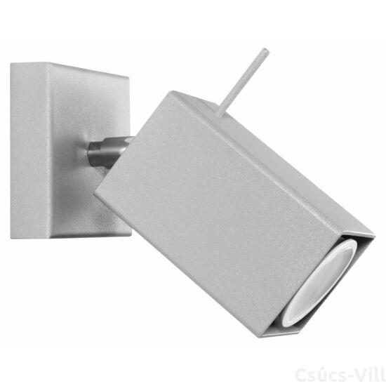 Fali lámpa -  MERIDA 1 szürke