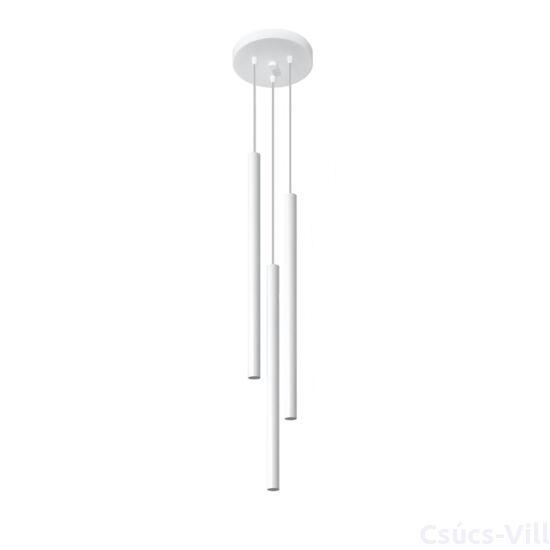 Sollux - Függeszték lámpa - PASTELO 3P Fehér