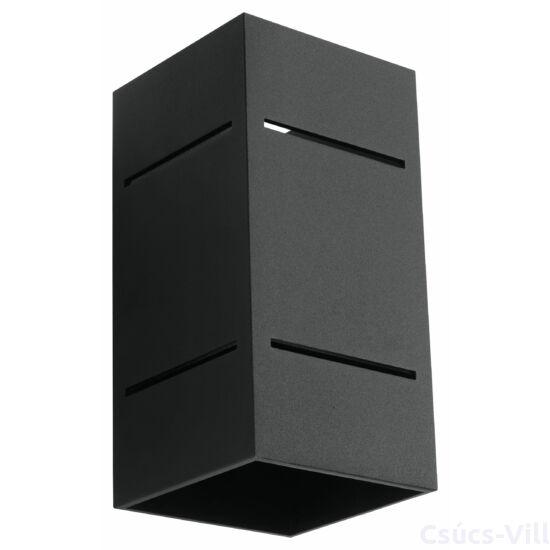 Fali lámpa -  BLOCCO fekete