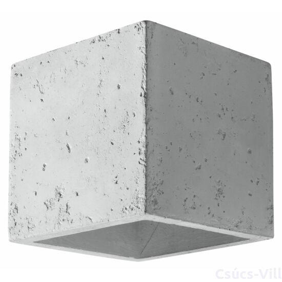 Fali lámpa -  QUAD beton