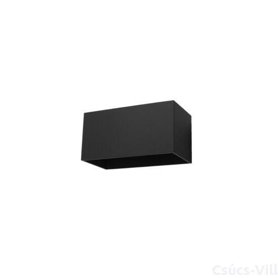 Fali lámpa -  QUAD MAXI fekete