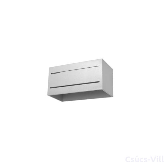 Fali lámpa -  LOBO MAXI 2 szürke