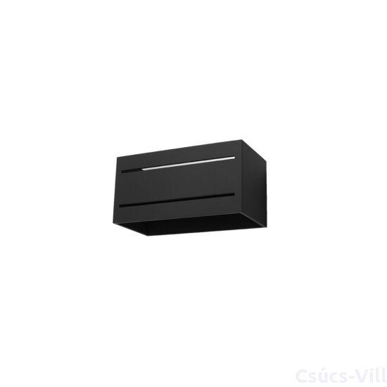 Fali lámpa -  LOBO MAXI 2 fekete