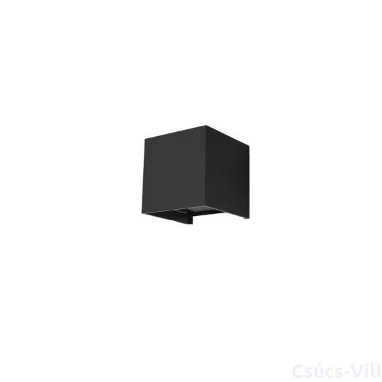 Fali lámpa -  LUCA fekete LED IP54