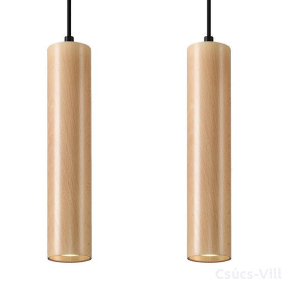 Sollux - Függeszték lámpa - LINO 2 fa