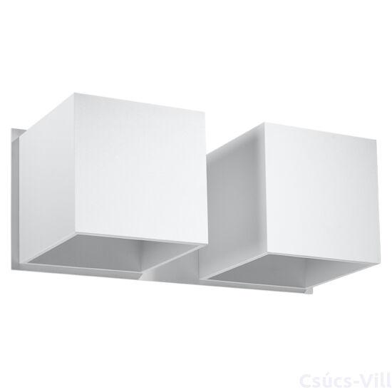 Fali lámpa -  QUAD 2 fehér