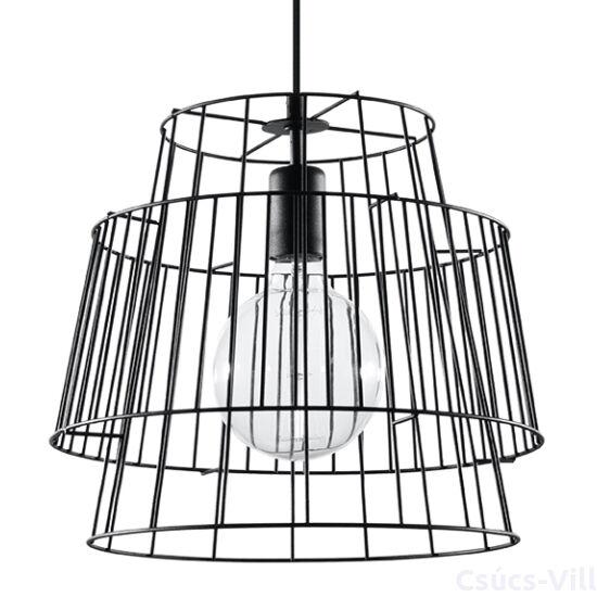 Sollux - Függeszték lámpa - GATE Fekete
