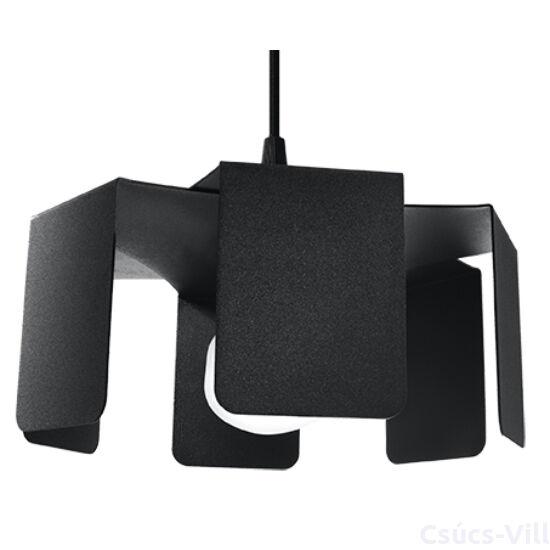 Sollux - Függeszték lámpa - TULIP Fekete