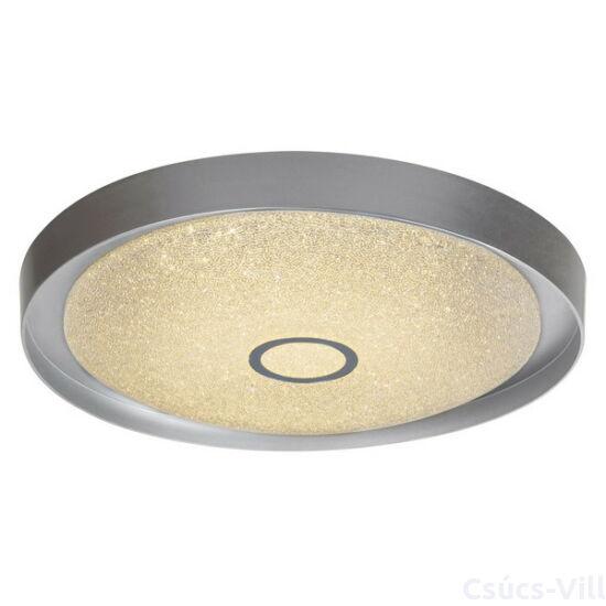 Skyler, csillogó mennyezeti lámpa beépített LED-el, színhőváltós, dimmelhető távirányítóval - Rábalux