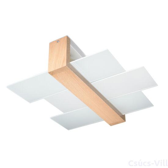 Sollux - Mennyezeti lámpa -  FENIKS 2 natúr fa