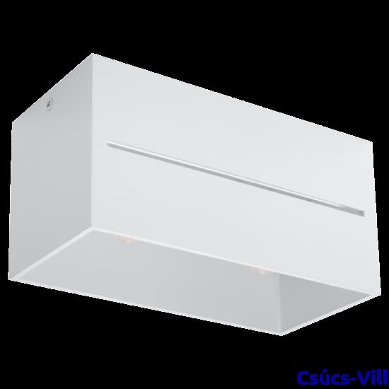 Sollux - Mennyezeti lámpa -  LOBO 2 fehér