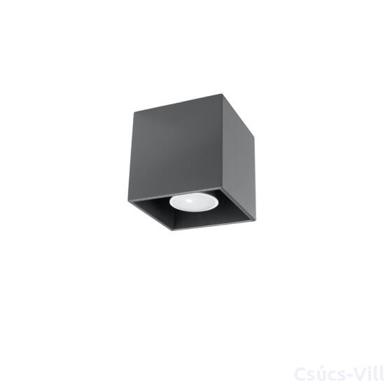 Sollux - Mennyezeti lámpa -  QUAD 1 anthracite