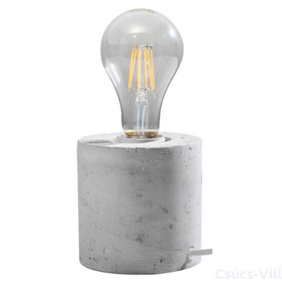 Sollux - Asztali lámpa -szürke - SALGADO concrete