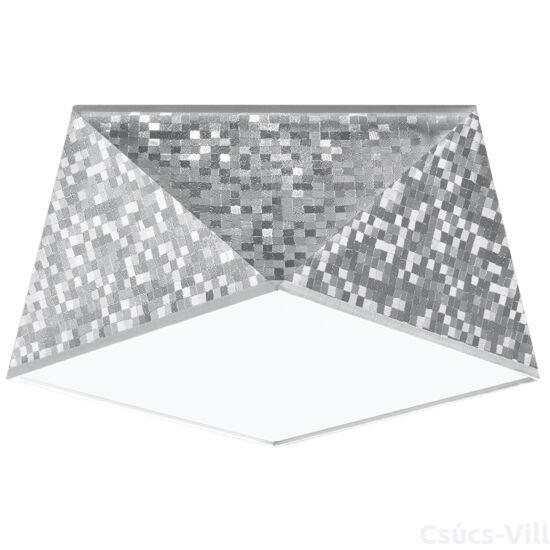 Sollux - Mennyezeti -  HEXA 25 ezüst