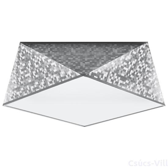 Sollux - Mennyezeti lámpa -  HEXA 35 ezüst