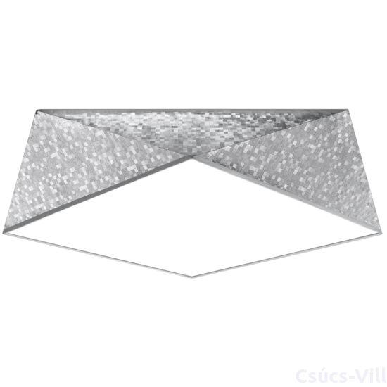 Sollux - Mennyezeti lámpa -  HEXA 45 ezüst