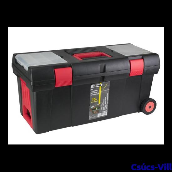 Strend Pro műanyag szerszámos láda-660x300x320mm-S-239232