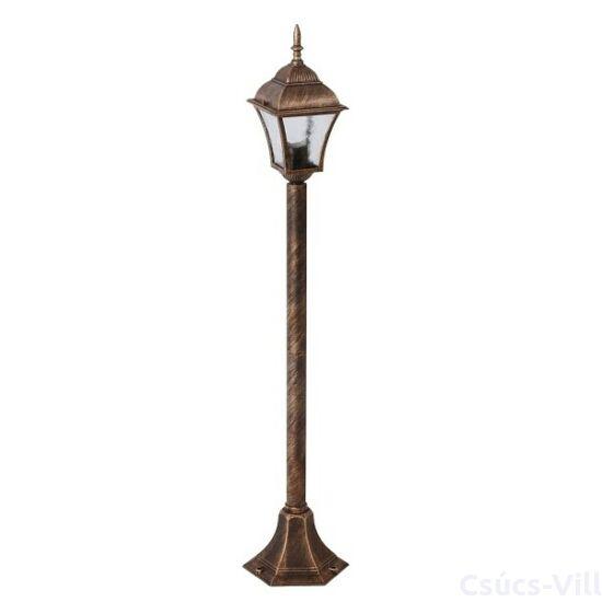 Toscana kültéri lámpa álló1m E27 60W a.ar. IP43