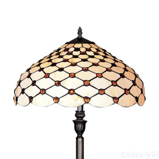 Tiffany állólámpa 2xe27/60w ø45cm