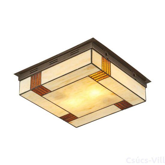 Tiffany mennyezet lámpa 2xe14/40w 45x45cm
