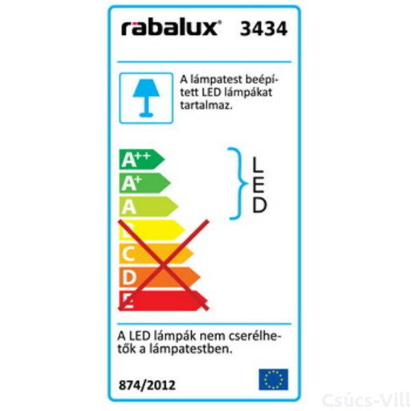 Lucas, LED mennyezeti lámpa, IP20 - Rábalux