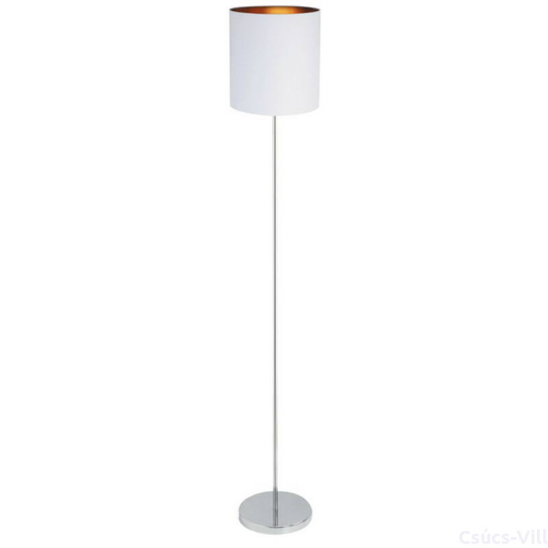 Monica, modern stílusú álló lámpa, belső része arany fóliázott - Rábalux