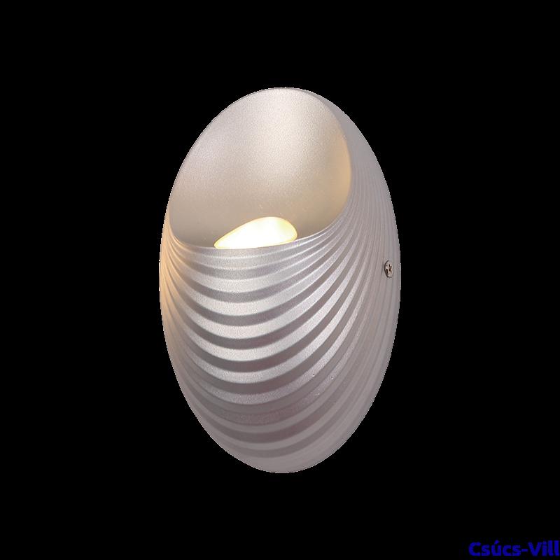 Shell Led Fali Lámpa Ezüst - Elmark