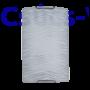 Kép 1/2 - Eros Fali Lámpatest 2 Fehér - Elmark