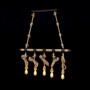 Kép 1/2 - Rope Csillár  5Xe27 L1030Mm Barna/Rusztikus - Elmark