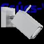 Kép 3/6 - Fali lámpa -  MERIDA 1 szürke