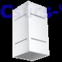 Kép 3/5 - Fali lámpa -  BLOCCO fehér