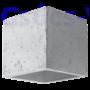 Kép 3/6 - Fali lámpa -  QUAD beton