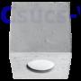Kép 5/6 - Sollux - Mennyezeti lámpa -  QUAD beton
