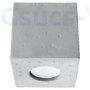 Kép 6/7 - Sollux - Mennyezeti -  QUAD beton